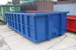 Open top container for refuge/recycling